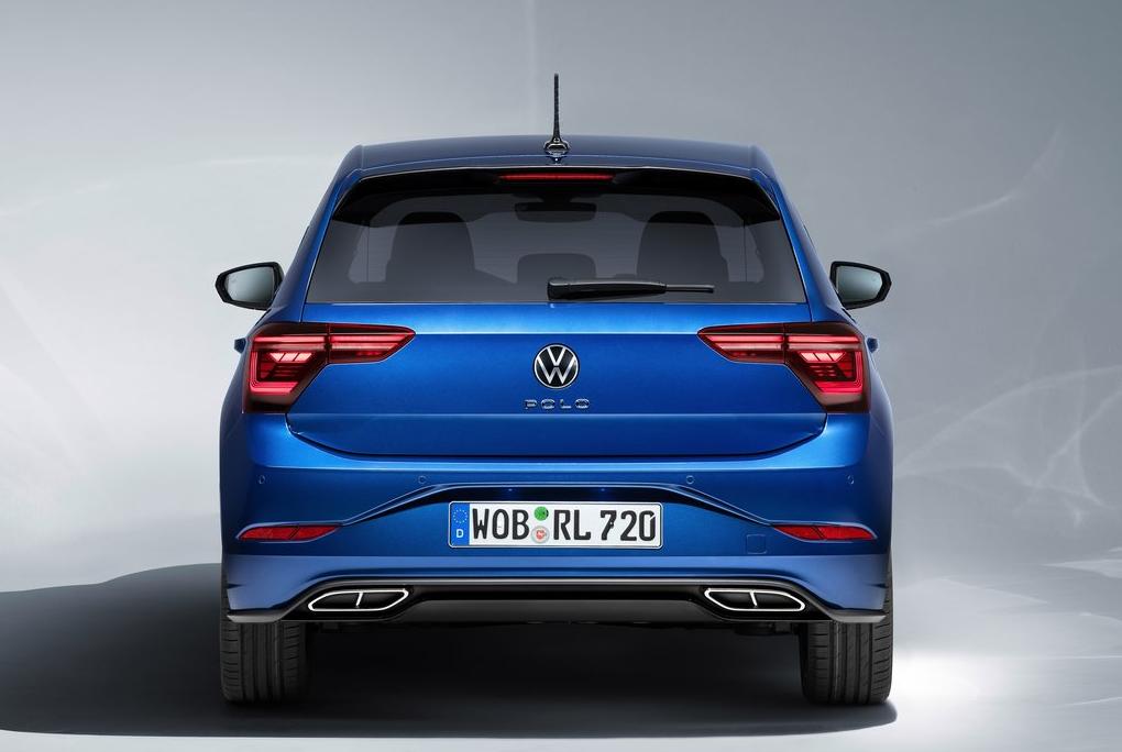 VW Polo Rear